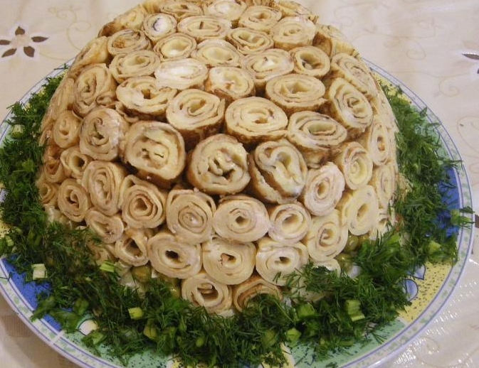 новогодний салат 2021